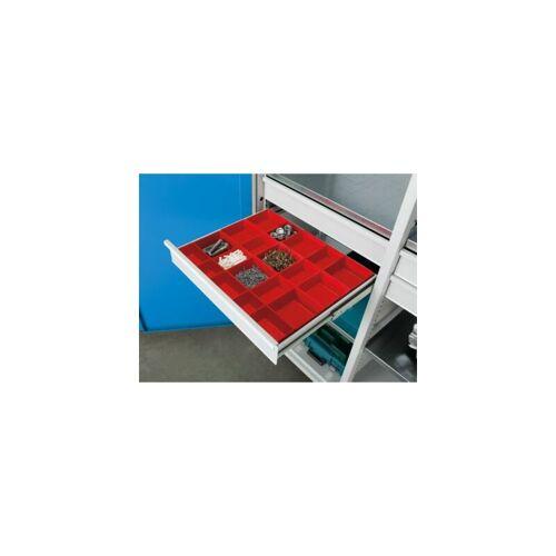 ANKE Kleinteilekasten - für Schubladen-BxT 650 x 540 mm - Schubladenhöhe 60 mm Kasten