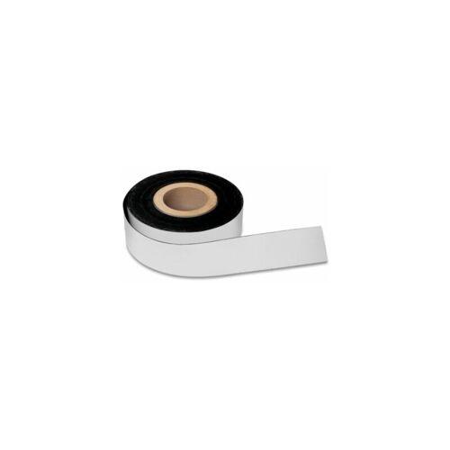 magnetoplan Magnetband - weiß - Breite 25 mm Magnet Magnetband Magnetbänder