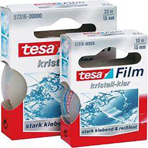 Tesa Film 33m:15mm 57316 kristall Klar (Inh. 12 Stück)