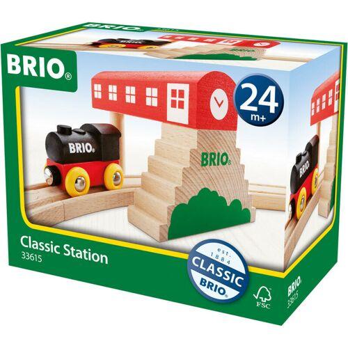 BRIOGMBH Brio Gmbh - BRIO Classic Bahnhof, Holzeisenbahn, Eisenbahn, Holzspielzeug, Holz Spielzeug, 33615