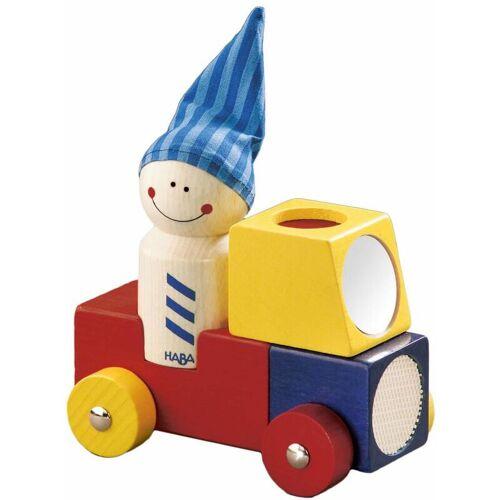 HABERMAAGMBH HABA Brummi, Holzauto, Auto, Figur, Babyspielzeug, Holzspielzeug, Baby Spielzeug, Holz, 1199