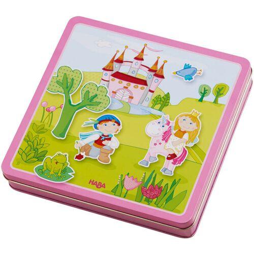HABA Magnetspiel-Box Feengarten, 101-tlg., Magnetspiele, Kinderspiele, Kinder Spiele, 301950