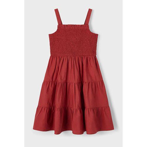 Name it Nkfjulie Strap Dress Tandoori Spice 128 red female