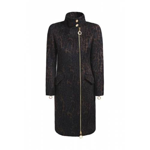 Guess Animalier Coat Macula 42 red female