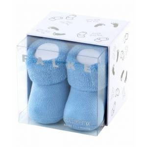 FALKE Erstling Baby Socken, 50-56, Blau, Uni, 10612-629008