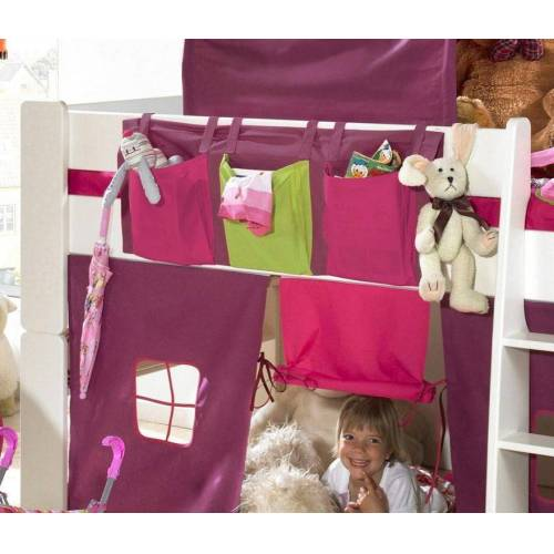 STEENS Spieltunnel FOR KIDS, für die Hochbetten L: 93 cm rosa Kinder Kinderbetten Kindermöbel