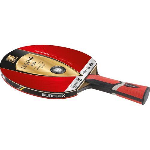 Sunflex Tischtennisschläger LEGEND A50 Einheitsgröße rot Tischtennis-Ausrüstung Tischtennis Sportarten
