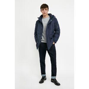 Finn Flare Winterjacke, mit praktischen Taschen L blau Herren Winterjacke Übergangsjacken Jacken Mäntel