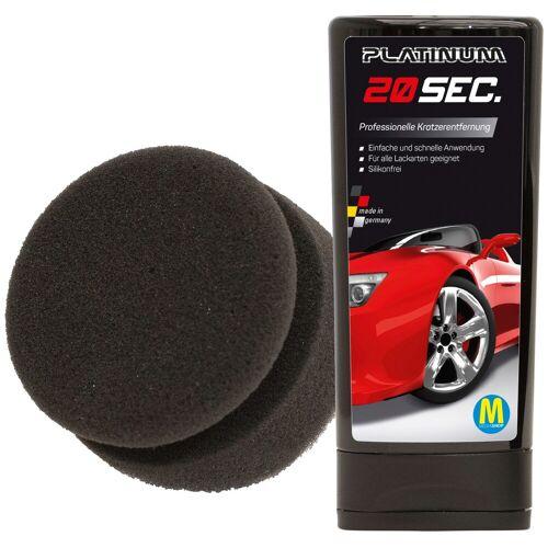 Platinum Autopolitur 20 sec, 100 ml, inkl. Schwamm ml schwarz Autopflege Autozubehör Reifen