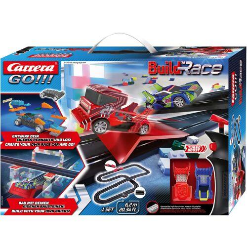 Carrera Autorennbahn GO - Build 'n Race Racing Set 6.2 Einheitsgröße bunt Kinder Autorennbahnen Autos, Eisenbahn Modellbau