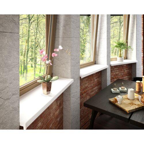 Baukulit VOX Fensterbank, LxT: 200x25 cm, weiß Einheitsgröße Fensterbank Fenster Bauen Renovieren