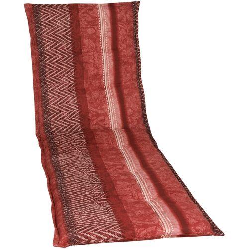 GO-DE Liegenauflage, Rollliegen-Auflage B/H: 60 cm x 190 rot Liegenauflage Liegenauflagen Gartenmöbel-Auflagen Gartenmöbel Gartendeko