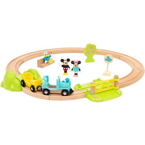 BRIO Spielzeug-Eisenbahn Micky Maus, FSC - schützt Wald weltweit Einheitsgröße bunt Kinder Kindereisenbahnen Autos, Eisenbahn Modellbau
