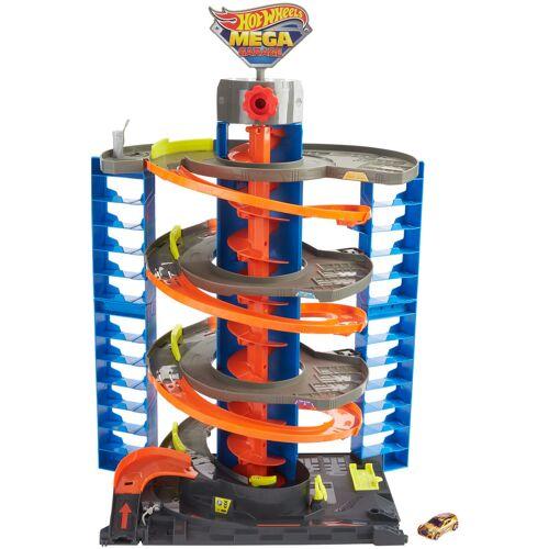 Hot Wheels Spiel-Parkgarage City Parkgarage Spielset, inkl. 1 Spielzeugauto und Zubehör Einheitsgröße bunt Kinder für Spielzeugautos Autos, Eisenbahn Modellbau