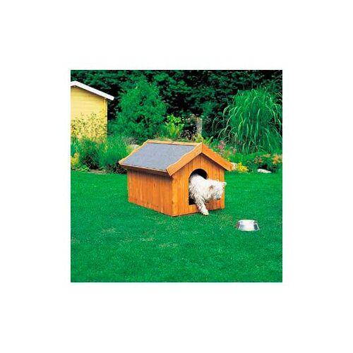 promadino Hundehütte, in versch. Größen B/H/T: 99 cm x 80 87 beige Hundehütte Hundehütten Zwinger Hund Tierbedarf
