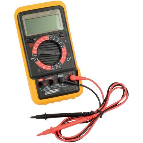 Brüder Mannesmann Werkzeuge Strommessgerät Digital Multimeter Einheitsgröße gelb