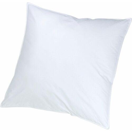 KBT Bettwaren Federkopfkissen ICE Kopfkissen, Füllung: 100% Federn, (1 St.) B/L: 80 cm x weiß Federkissen Kopfkissen Bettdecken, Unterbetten