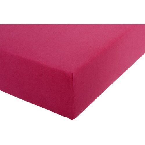 Spannbettlaken B/L: 180-200 cm x 200-220 rosa Bettlaken Betttücher Bettwäsche, und