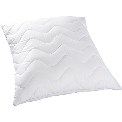 KBT Bettwaren Synthetikkopfkissen Body Soft Kopfkissen, (1 St.) B/L: 80 cm x weiß Allergiker Kopfkissen Bettdecken, Unterbetten