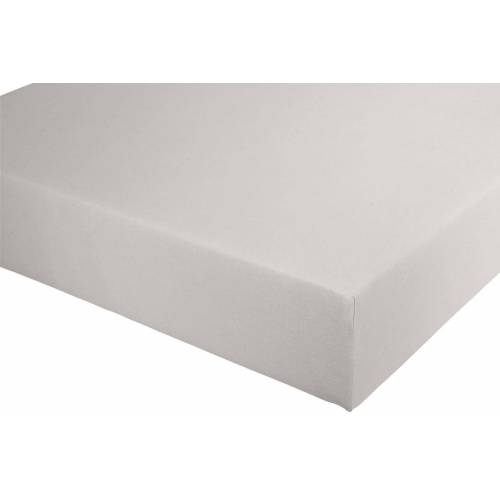 Spannbettlaken B/L: 90-100 cm x 190-220 grau Bettlaken Betttücher Bettwäsche, und