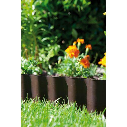 GARDENA Beetbegrenzung L/H: 900 cm x 20 braun Rasen- Gartendekoration Gartenmöbel Gartendeko
