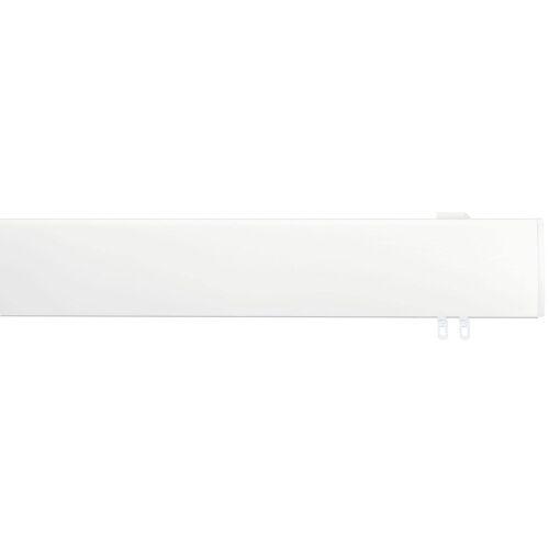 indeko Innenlaufschiene Ovum3, 1 läufig-läufig, Wunschmaßlänge läufig weiß Gardinenschienen Gardinen Vorhänge