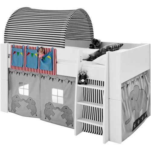STEENS Spieltunnel FOR KIDS, für die Hochbetten L: 93 cm bunt Kinder Kinderbetten Kindermöbel