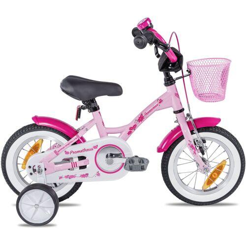 PROMETHEUS BICYCLES Kinderfahrrad Hawk, 1 Gang 22 cm, 12,5 Zoll (31,75 cm) rosa Kinder Kinderfahrräder Fahrräder Zubehör