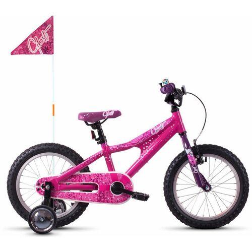 Ghost Kinderfahrrad POWERKID AL 16 K 31 cm, Zoll (40,64 cm) rosa Kinder Kinderfahrräder Fahrräder Zubehör