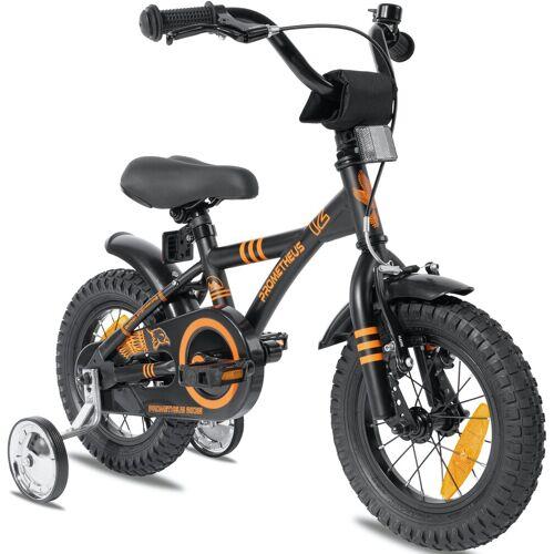 PROMETHEUS BICYCLES Kinderfahrrad Hawk, 1 Gang 20 cm, 12,5 Zoll (31,75 cm) schwarz Kinder Kinderfahrräder Fahrräder Zubehör