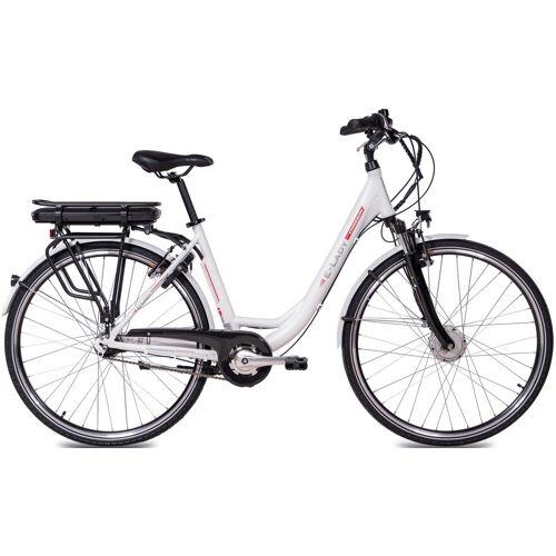 Chrisson E-Bike E-LADY, 8 Gang, Shimano, SG-C3000-7C, Frontmotor 250 W 50 cm, 28 Zoll (71,12 cm) weiß E-Bikes Fahrräder Zubehör