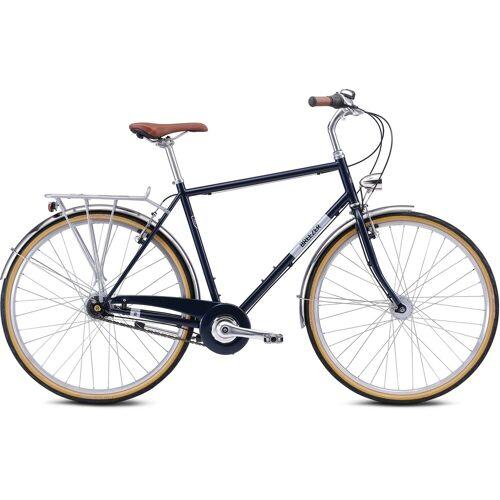 BREEZER Bikes Trekkingrad DOWNTOWN 7+, 7 Gang 56 cm, 28 Zoll (71,12 cm) blau Trekkingräder Fahrräder Zubehör