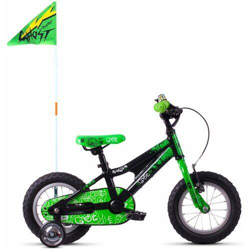 Ghost Kinderfahrrad POWERKID AL 12 K, 1 Gang 18 cm, Zoll (30,48 cm) grün Kinder Kinderfahrräder Fahrräder Zubehör