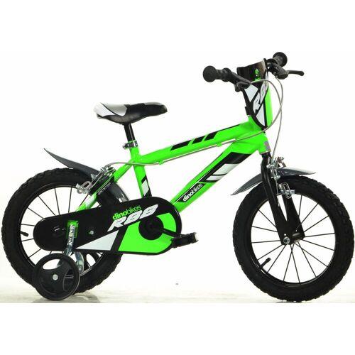 Dino Kinderfahrrad, 1 Gang 25 cm, 14 Zoll (35,56 cm) grün Kinder Kinderfahrrad Kinderfahrräder Fahrräder Zubehör