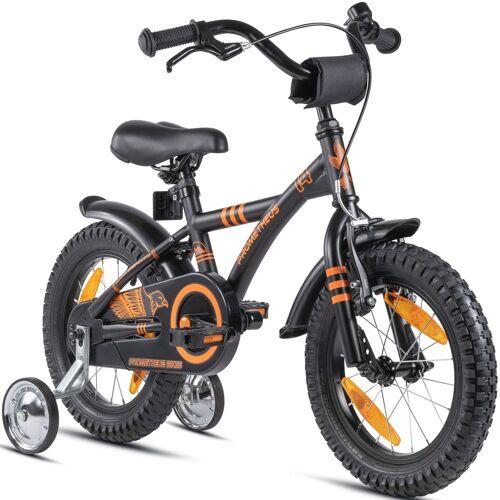 PROMETHEUS BICYCLES Kinderfahrrad Hawk, 1 Gang 22 cm, 14 Zoll (35,56 cm) schwarz Kinder Kinderfahrräder Fahrräder Zubehör