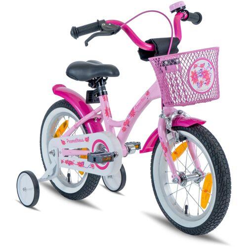 PROMETHEUS BICYCLES Kinderfahrrad Hawk, 1 Gang 23 cm, 14 Zoll (35,56 cm) rosa Kinder Kinderfahrräder Fahrräder Zubehör