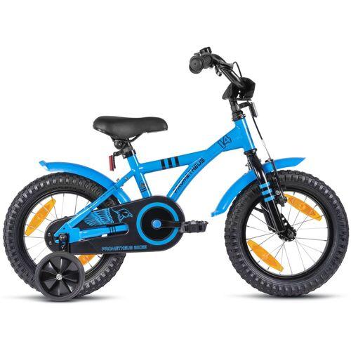 PROMETHEUS BICYCLES Kinderfahrrad Hawk, 1 Gang 23 cm, 14 Zoll (35,56 cm) blau Kinder Kinderfahrräder Fahrräder Zubehör