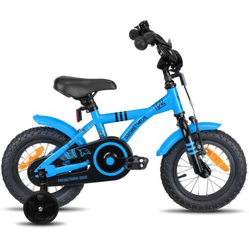 PROMETHEUS BICYCLES Kinderfahrrad Hawk, 1 Gang 22 cm, 12,5 Zoll (31,75 cm) blau Kinder Kinderfahrräder Fahrräder Zubehör