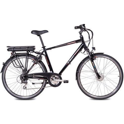 Chrisson E-Bike E-GENT, 8 Gang, Shimano, RD-M360-SGS, Frontmotor 250 W 53 cm, 28 Zoll (71,12 cm) schwarz E-Bikes Fahrräder Zubehör