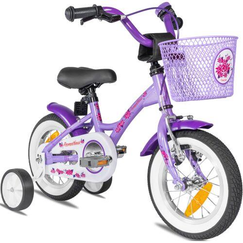 PROMETHEUS BICYCLES Kinderfahrrad Hawk, 1 Gang 20 cm, 12,5 Zoll (31,75 cm) lila Kinder Kinderfahrräder Fahrräder Zubehör