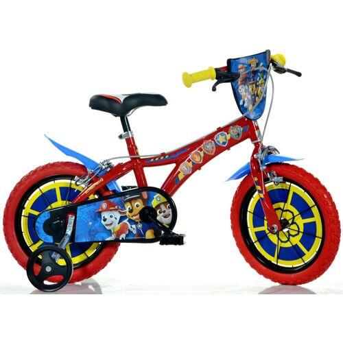 Dino Kinderfahrrad Paw Patrol, 1 Gang 26 cm, 14 Zoll (35,56 cm) rot Kinder Kinderfahrräder Fahrräder Zubehör