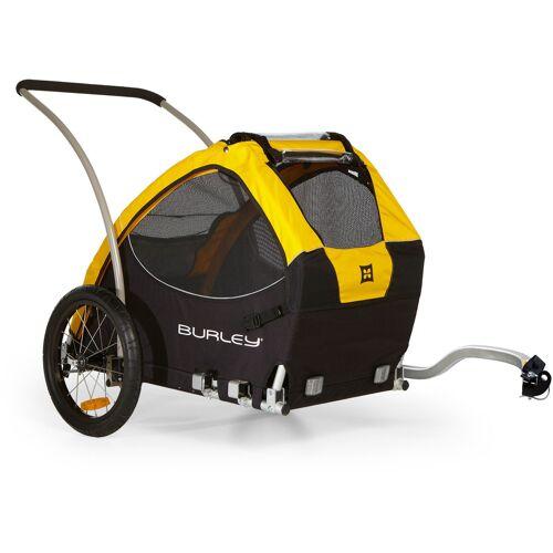 Burley Fahrradhundeanhänger Tail Wagon L/B/H: 93/79/81 cm schwarz Rad-Ausrüstung Radsport Sportarten