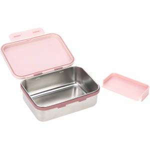 LÄSSIG Lunchbox Adventure, Tipi, (1 tlg.) B/H/L: 17,3 cm x 6,9 13,3 rosa Kinder Aufbewahrung Küchenhelfer Haushaltswaren