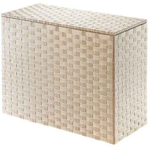 locker Wäschesortierer Wäschesortierer, (1 St.) B/H/T: 77 cm x 63 35 beige Wäschekörbe Wäschetruhen Badmöbel