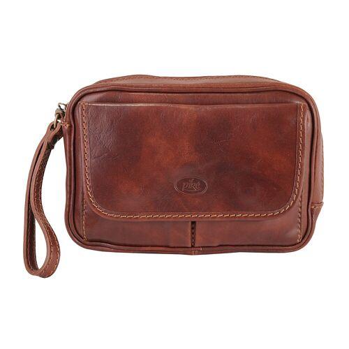 Piké Handgelenktasche B/H/T: 24 cm x 17 7.5 onesize braun Damen Handgelenkstaschen Taschen