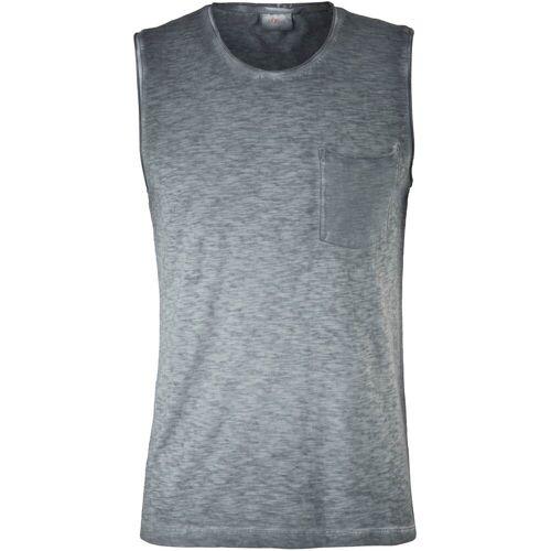 s.Oliver Muskelshirt, ohne Ärmel M (46/48) grau Herren Muskelshirt Muskelshirts Shirts
