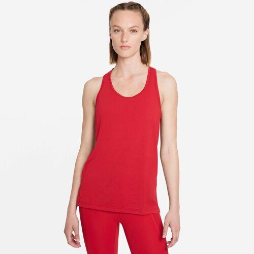 Nike Yogatop Yoga Women's Tank M (38/40) rot Damen Tops