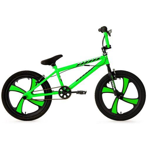 KS Cycling BMX-Rad Cobalt, 1 Gang 28 cm, 20 Zoll (50,80 cm) grün Kinder Damenfahrräder Fahrräder Zubehör