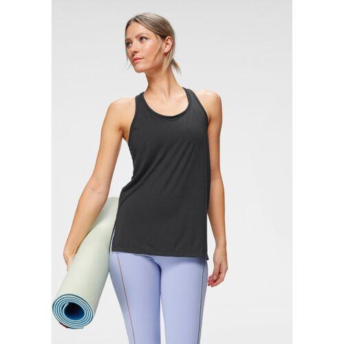 Nike Yogatop Yoga Women's Tank S (34/36) schwarz Damen Tops