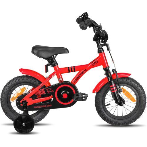 PROMETHEUS BICYCLES Kinderfahrrad Hawk, 1 Gang 22 cm, 12,5 Zoll (31,75 cm) rot Kinder Kinderfahrräder Fahrräder Zubehör